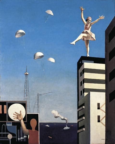 古賀春江『窓外の化粧』昭和5(1930) 年作 神奈川県立近代美術館所蔵